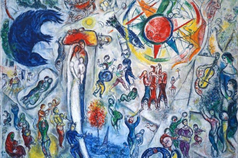 Vie de chagall