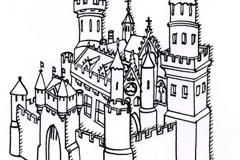 Chateau-forteresse